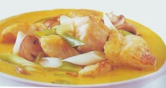 pesce al curry,pesce,merluzzo al curry,pesce persico al curry,curry,ricette di pesce,ricette di cucina,