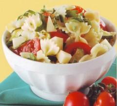 Insalata,Farfalle fredde estive,insalata di pasta,pasta fredda,pomodori,insalate,limone,zucchine,pasta,