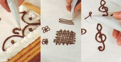 come  lavorare il cioccolato per decorare,decorare con il cioccolato,decorare le torte con il cioccolato,decorare le torte,come sciogliere il cioccolato,decorare le torte,