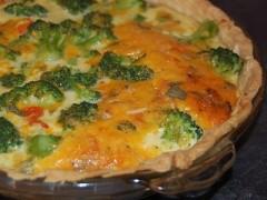 torta salata ai broccoletti,torta salata,broccoli,fontina,torta salata vegetariana,torta,