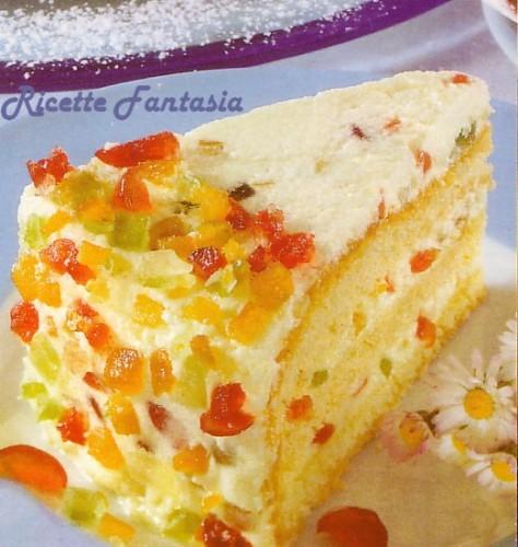 torta ai canditi