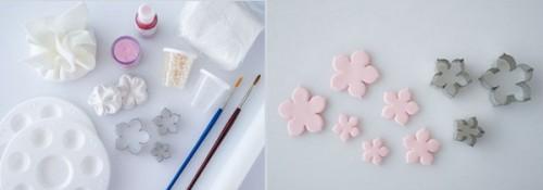 fiorellini con mmf  fondant,fiorellini per decorare le torte,fiori in mmf fondant,come decorare una torta,