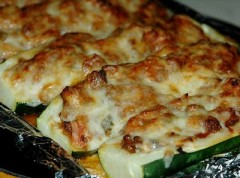 barchette di zucchine,zucchine farcite,zucchine,secondo vegetariano,