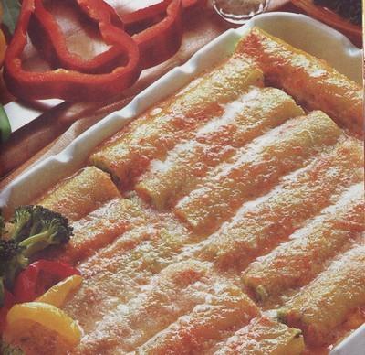 cannelloni di broccoletti,cannelloni,primi,primi piatti,cannelloni di  verdure,ricette di cucina,cannelloni farciti ai broccoletti,broccoli,