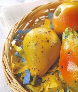 frutta martorana,frutta,mandorle,dolce,