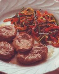 nocette d'agnello alle verdure,nocette d'agnello,agnello,carne,carote,peperoni,finocchio
