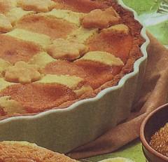 crostata di ananas alla crema,crostata di ananas,crostata,crostate,ricette dolci,pasta frolla,
