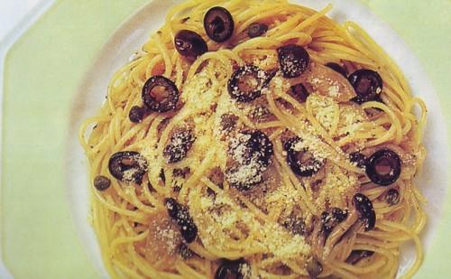 Spaghetti con funghi, olive nere e capperi.jpg