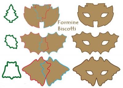 mascherine di carnevale,carnevale, Dolci, maschere di carnevale, pasta frolla, Ricetta mascherine di carnevale,formine per mascherine,