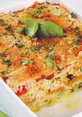 tortino di riso con peperoni e zucchine,tortino di riso,timballo di riso,riso,riso al forno,ricette con il riso,ricette di cucina,