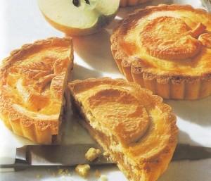 tortine alle mele,dolcetti di mele,mele,tartellette alle mele,ricetta dolci di mele,