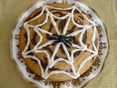 halloween,torta halloween  torta ragnatela