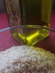 condimento olio e mollica,olio e mollica,salsa olio e mollica,ricette di cucina,ricette salse,