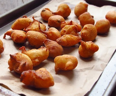 frittelle di semolino,frittelle,semolino,arancia,uova,