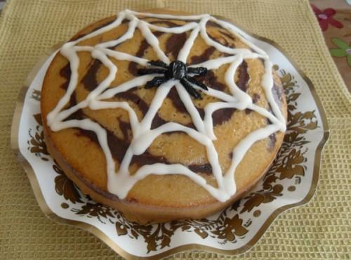 halloween: torta ragnatela