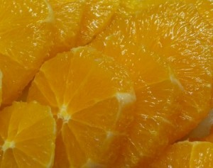 arance sotto spirito