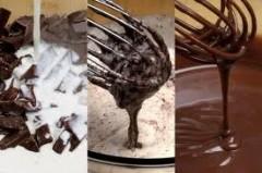 crema ganache,crema,crema ganache al cioccolato,ricetta base crema ganache,crema per farcire torte,crema per glassare,