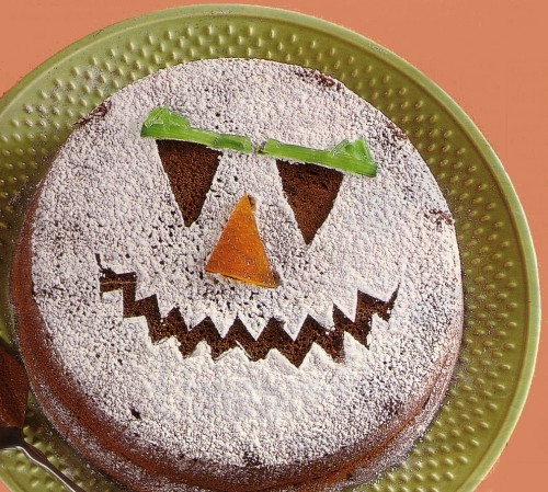torta della strega di halloween