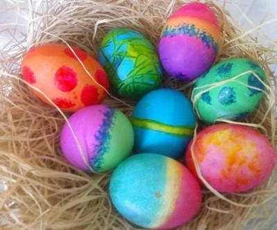 come dipingere e decorare le uova di pasqua,uova di pasqua decorate,decorare le uova di pasqua,come colorare le uova di pasqua,pasqua,