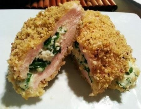 Cordon bleu fatti in casa con spinaci e mozzarella33