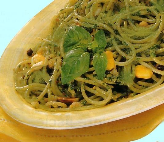 spagnetti ai pistacchi